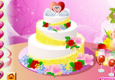 игры идеальный дизайн свадебных тортов
