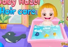 игры уход за волосами малышки хейзел