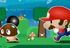 Игра Марио человек бомба