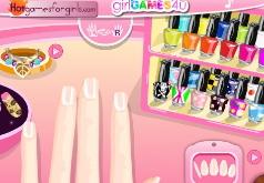 игры модные летние ногти