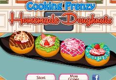 Игры Готовим Вкусные Домашние Пончики