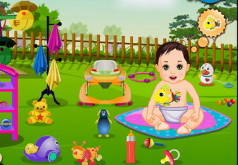 игры барби забота о малышах