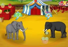 игры слоны драки