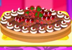игры оформление пирога барби