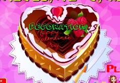 Игры valentine chocolate cake