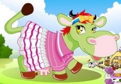 игры фермерская любимица коровка