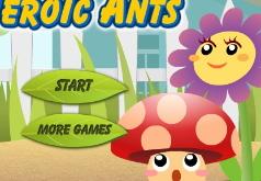 игры муравьи герои