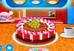 игры украсьте фруктовый торт