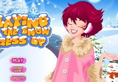 Игры одевалка зимний наряд