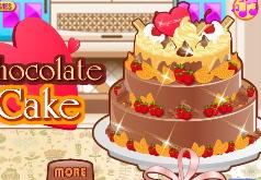 Игры Готовим Шоколадный Тортик