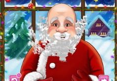 игры дед мороз стричь бороду