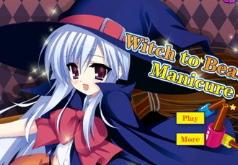 Игры Ведьма и красивый маникюр