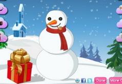 игры укрась снеговика