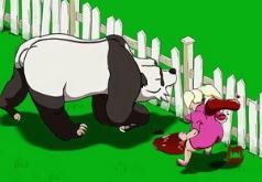 игры возбужденная панда