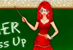 Игра Моя учительница Одевалка