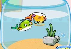 игра кормить рыбок в аквариуме