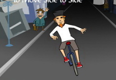 Игра Гонки на одноколесном велосипеде