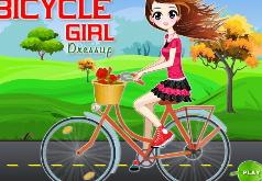 Игры девочка на велосипеде