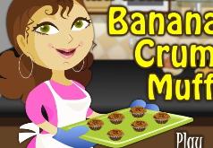 игры как испечь банановые маффины с крошкой