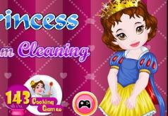 Игры Уборка детской принцессы