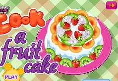 игры тропические фруктовый торт