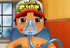 Игра Джейк из Сабвей Серф на операции