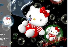 Игры Китти и пузыри