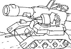 игры нарисованный танк