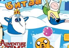 Игра Время приключений Ледяная битва