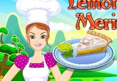 Игры Лимонный пирог безе