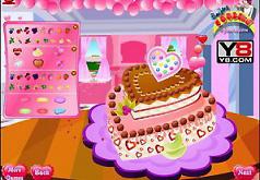игры оформление любовного пирога
