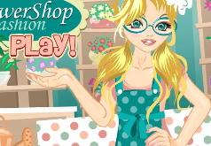 игры цветочный магазин моды