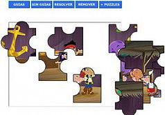 Игра Джейк и Пираты Нетландии Джейк и его друзья Пазл