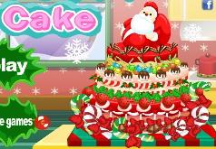 игры приготовление новогоднего торта