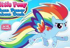 игра пони одевалки радуга