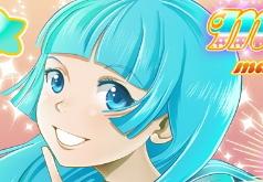 Игры аниме макияж и одевалки