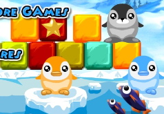 игры пингвины и блоки