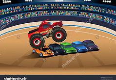 Игры Спринт грузовика монстра
