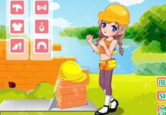 игры строительная девушка