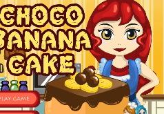 Игры Chocolate Banana Cake Games