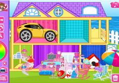 Игра Дизайн дома любимой куклы