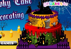 Игры spooky cake