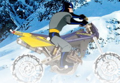 игры бэтмен на зимней трассе