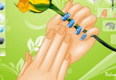 Игры на руках ногти
