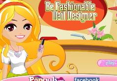Игра Дизайнер модного маникюра