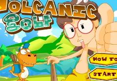 Игра Вулканический гольф