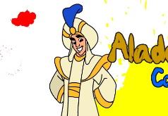 Игры Аладин раскраска