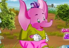 игры слон одевается