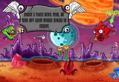 игры рыба и разрушения