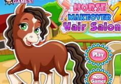 Игры Лошадь в салоне причесок 2